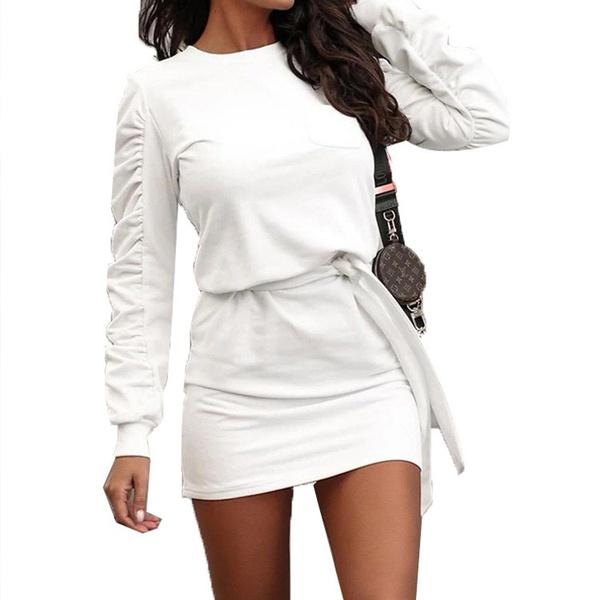 Genesis pleat sleeve  jersey dress picture