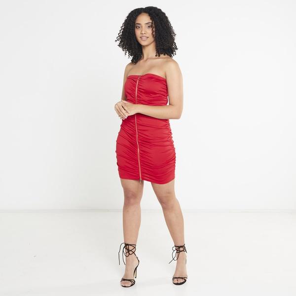 Josslyn mini dress - red picture