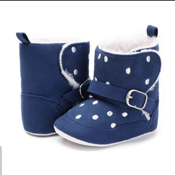 Baby blue booties picture