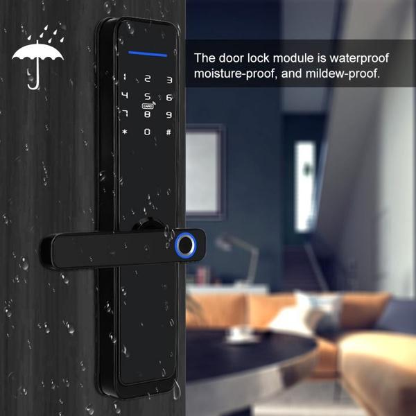 Smart home wifi door lock picture