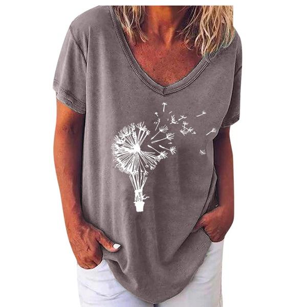 Dandelion shirt - grey picture