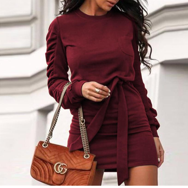 Gerri dress - burgundy picture