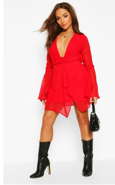 Lucia- red gypsy dress picture