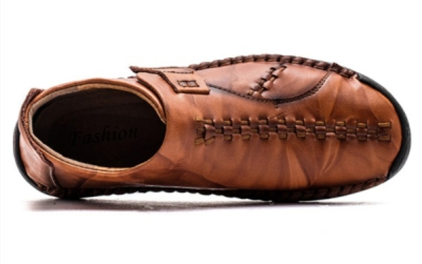 Geronimo mens leather shoes picture