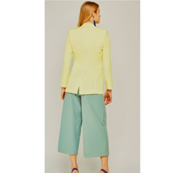 Pastel yellow blazer - small range picture