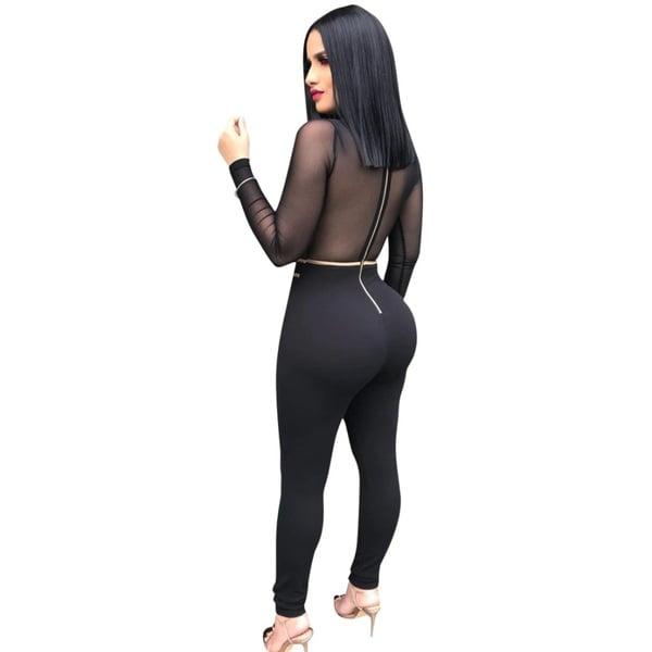 Candice jumpsuit - gold/black picture