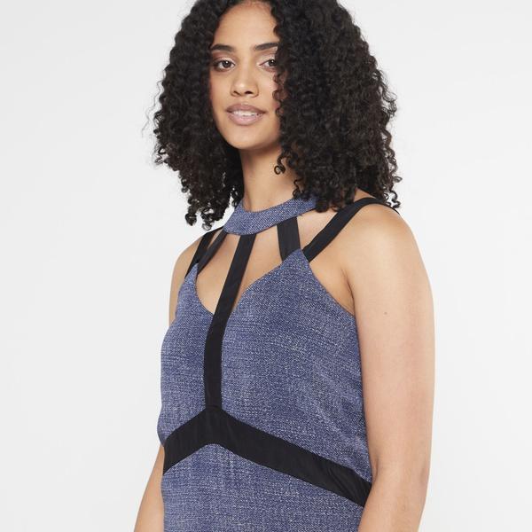 Farrah maxi dress - blue picture