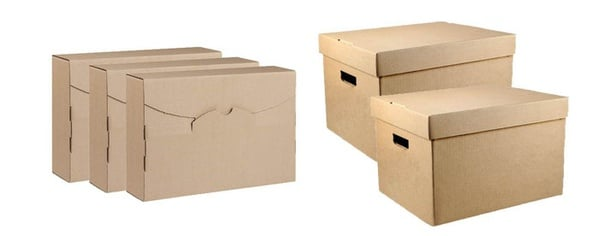 Document and archive folder boxes- packs of 5 picture