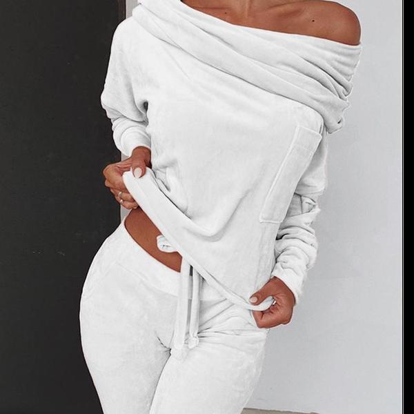 Jasmine tracksuit - white picture