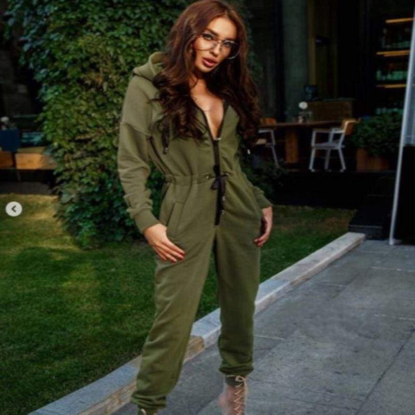 Mayqueen jumpsuit - green picture
