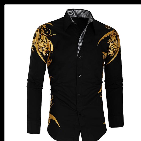 Noble gold men shirt picture