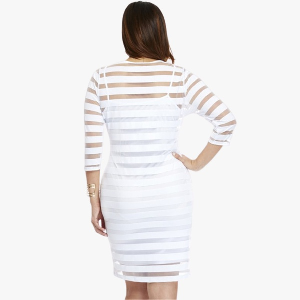Sherry 2 piece dress-white picture