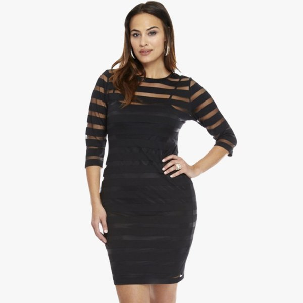 Sherry 2 piece dress-black picture