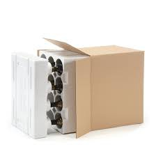 Wine box with insert picture