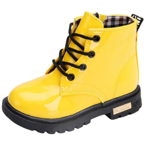 Yellow kiddie/youth boot - yellow picture