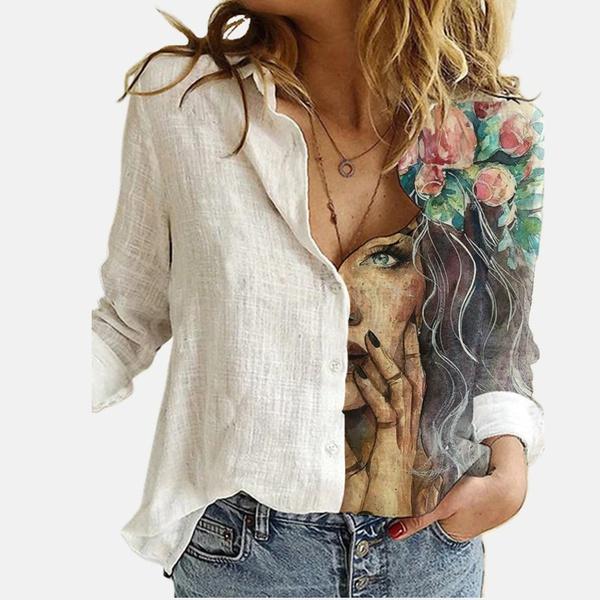 Temptress blouse - white picture