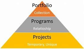 Portfolios & programs; understanding the difference picture