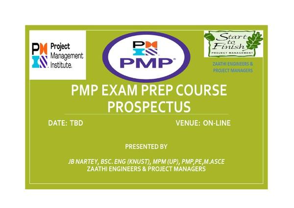 Virtual PMP Prep Course picture