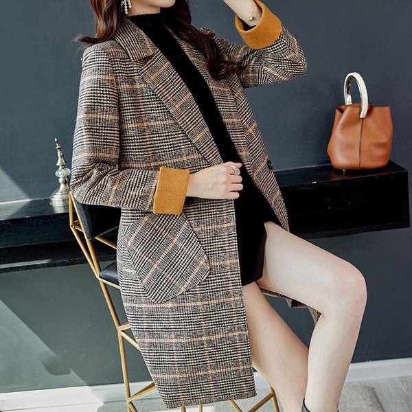 Plaid coats picture