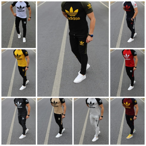 Adidas t-shirt and bottom picture