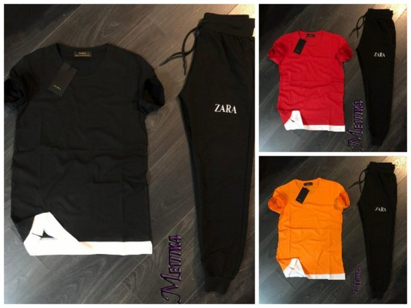 Zara tshirt and bottom picture