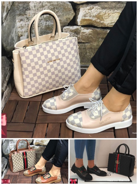 Gucci shoe and bag picture