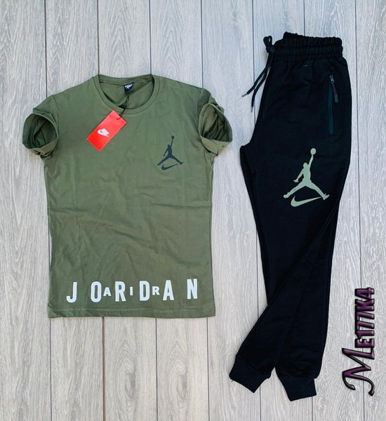 Jordan tshirt and bottom picture