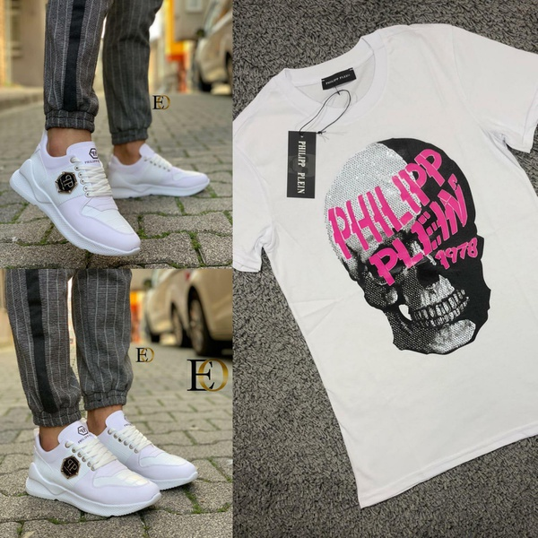 Phillip plein tshirt and shoes picture