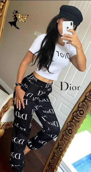 Dior top and bottom picture