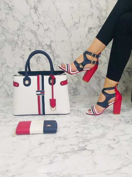 Tommy hilfiger block heels picture