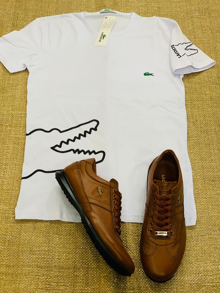 Lacoste shoes and shirts picture