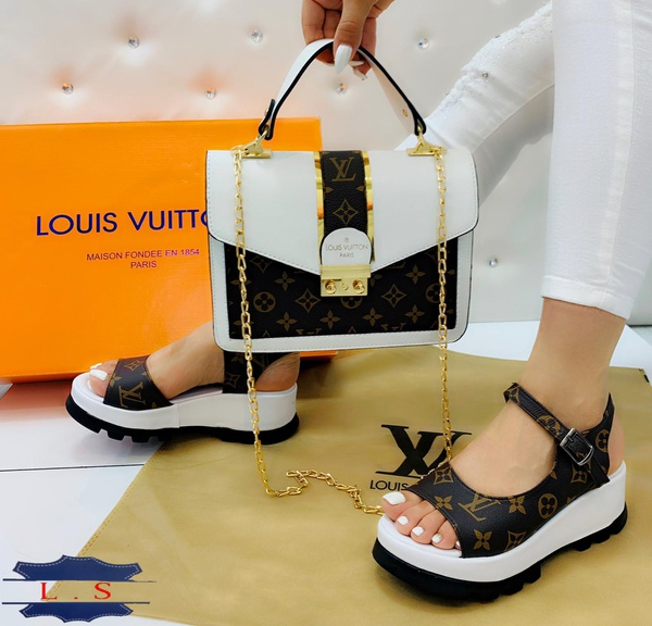 Louis vuitton platform shoes picture