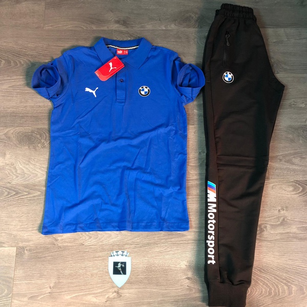 Puma golf t and jogger picture