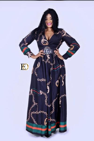 Gucci maxi dress picture