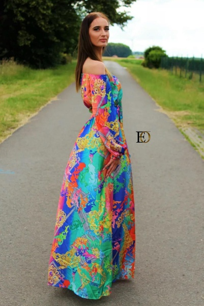 Floral dress picture