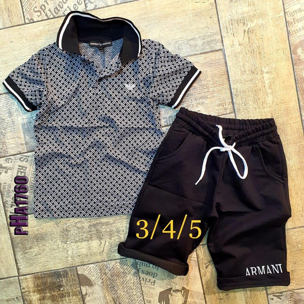 Amani tshirt and short picture