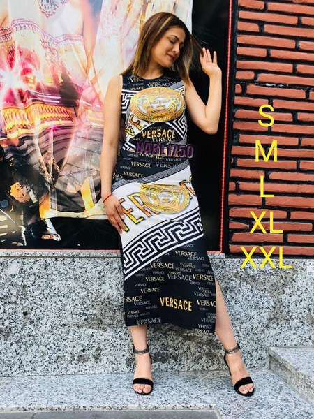Versace skirt and top picture