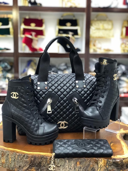 Chanel boots picture
