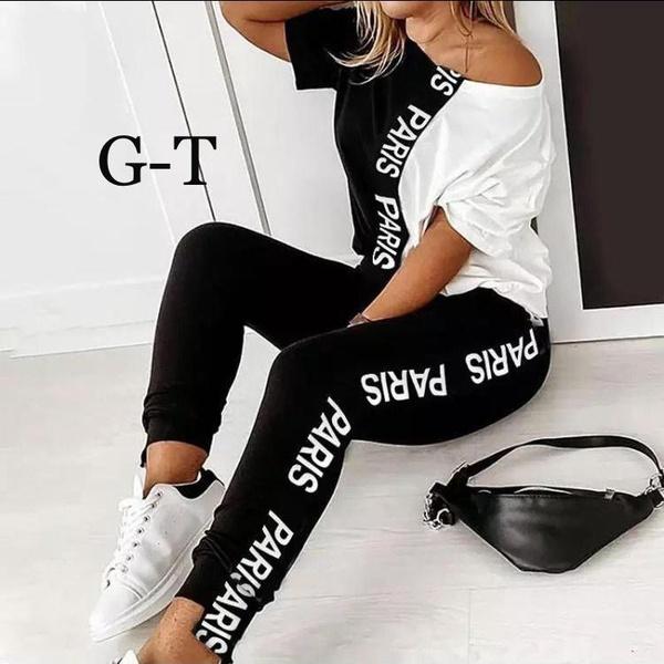 Paris tshirt +bottom picture