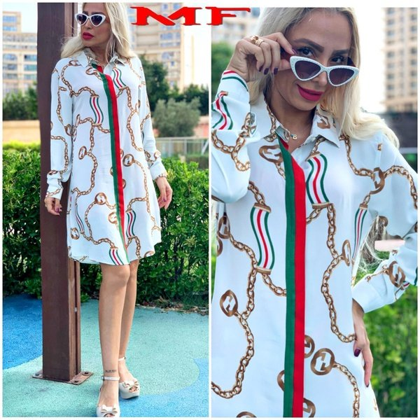Gucci shirt dress picture