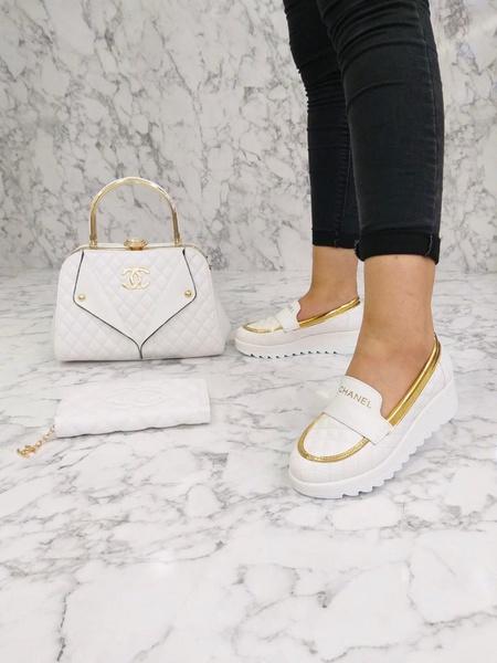 Chanel platform shoes picture