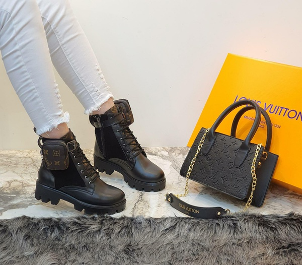 Louis vuitton boots picture