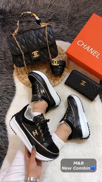 Chanel platform sneaker picture