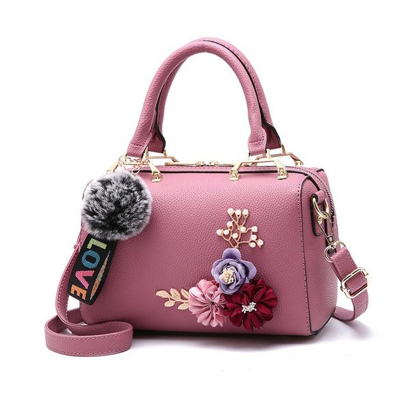 Floral design handbag picture