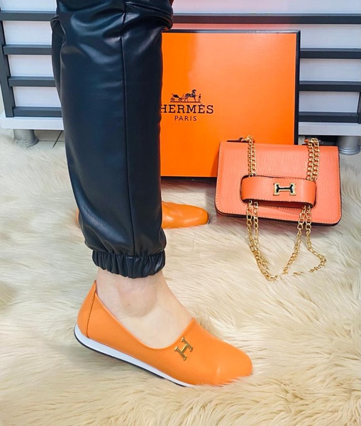 Hermes side bag and shoes picture