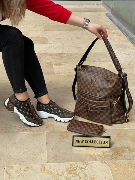 Louis vuitton bag and shoe set picture
