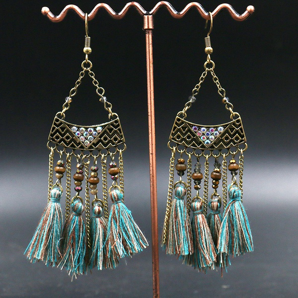 Tassel earrings picture