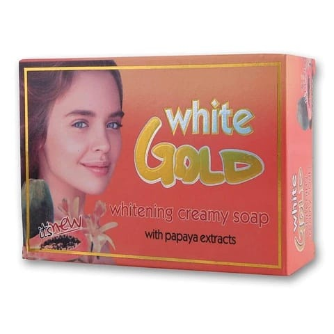 White gold whitening soap picture