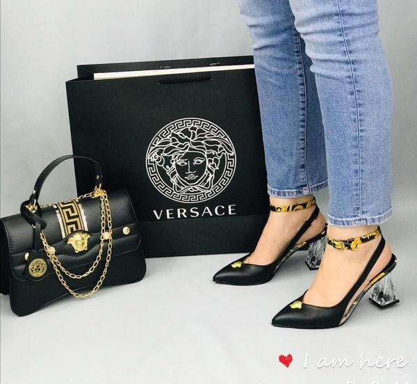 Versace shoe picture