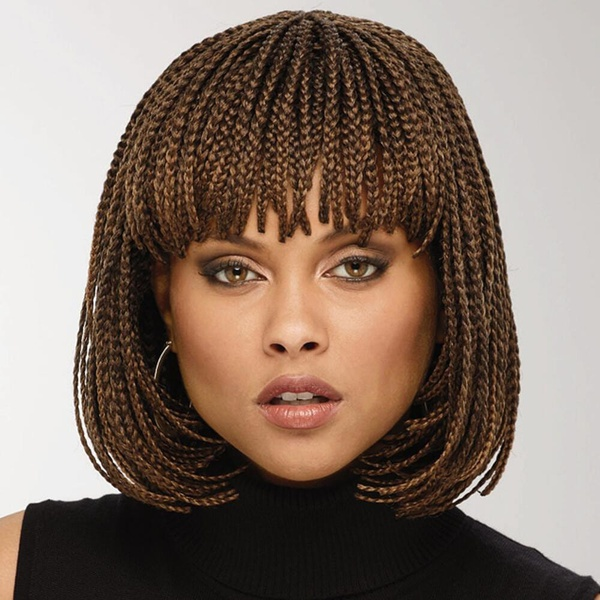 Braided wig picture
